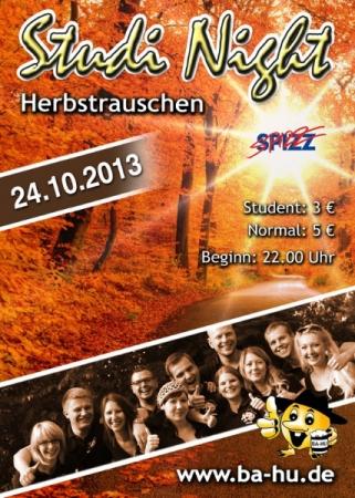 Studi Night Herbstrauschen 2013