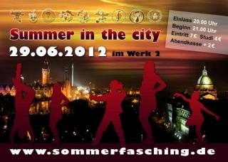 Sommerfasching 2012